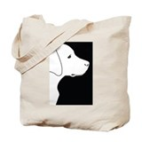 Black Lab Tote Bag