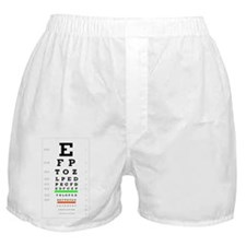Funny Ophthalmology Boxer Shorts