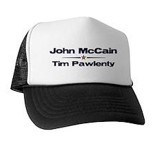 McCain Pawlenty Trucker Hat
