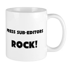 Press Sub-Editors ROCK Mug