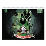 MONSTER ART Wall Calendar 2013