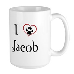 Love Jacob Twilight Large Mug