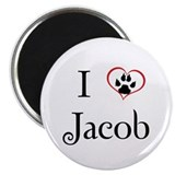 "Love Jacob Twilight 2.25"" Magnet (100 pack)"