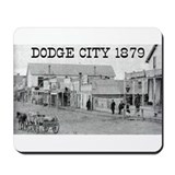 Dodge City 1879 Mousepad