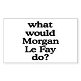 Morgan Lefay Rectangle Sticker 10 pk)
