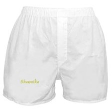 Shawnika in Gold - Boxer Shorts