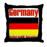 Germany Bundesrepublik Deutsc Throw Pillow