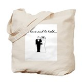 Cute Groom Tote Bag
