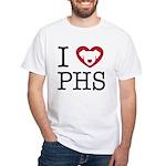 i love phs 1010 t shirt T-Shirt