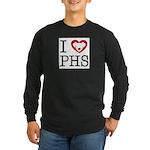 Putnam Humane Society Long Sleeve Dark T-Shirt