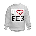 Putnam Humane Society Pet Rescue Kids Sweatshirt