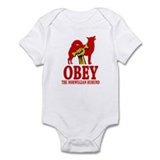 Norwegian Buhund Infant Bodysuit