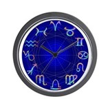 Astrology Wheel Wall Clock