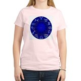 Astrology Wheel Women's Pink T-Shirt