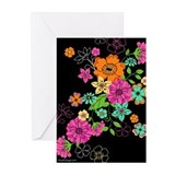 Summer Blossoms Greeting Cards (Pack of 10)