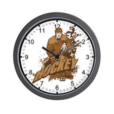 Hocky Rocks Wall Clock