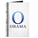 Blue Obama O Journal