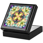 Four Flower Kaleidoscope Keepsake Box