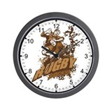 Rugby Rocks Wall Clock
