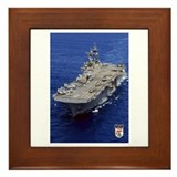 USS Essex LHD-2 Framed Tile