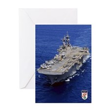 USS Essex LHD-2 Greeting Card