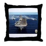 USS Kearsarge LHD-3 Throw Pillow