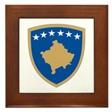Kosovo Framed Tile