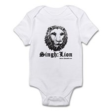 Singh is a Lion Infant Bodysuit