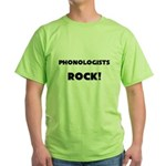 Phonologists ROCK Green T-Shirt