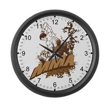 MMA Rocks Large Wall Clock