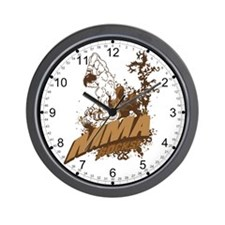 MMA Rocks Wall Clock