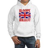 Bloody Brilliant -- UK Jumper Hoody