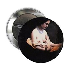 Vintage Naked (XII) Photograph Button
