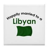 Happily Married Libyan Tile Coaster