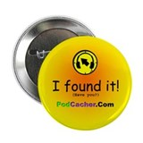 "Podcacher 2.25"" Button (100 pack)"