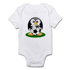 Soccer penguin Infant Bodysuit