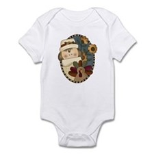 Turkey Pilgrim Thanksgiving Infant Bodysuit
