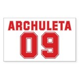 ARCHULETA 09 Rectangle Sticker 50 pk)