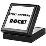 Patent Attorneys ROCK Keepsake Box
