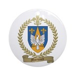 MORNAULT Family Crest Ornament (Round)