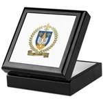MORNAULT Family Crest Keepsake Box