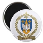 "MORNEAULT Family Crest 2.25"" Magnet (10 pack)"