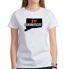 I Love Connecticut Tee