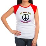 Hippie Chick 65th Birthday Women's Cap Sleeve T-Sh