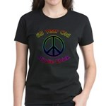Hippie Chick 65th Birthday Women's Dark T-Shirt