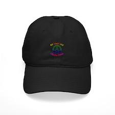 Hippie Chick 65th Birthday Baseball Hat