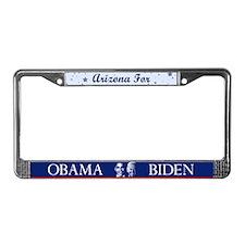 Arizona for Obama License Plate Frame