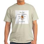 My God carries a hammer Ash Grey T-Shirt