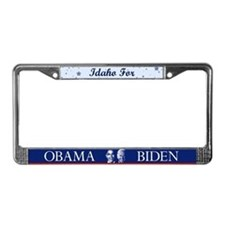 Idaho for Obama License Plate Frame