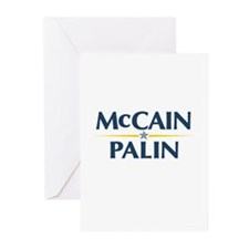 McCain Palin Greeting Cards (Pk of 10)